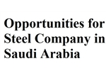 Opportunities For Steel Company